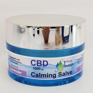Pure Biologix CBD Topical Salve 1000 mg Jar