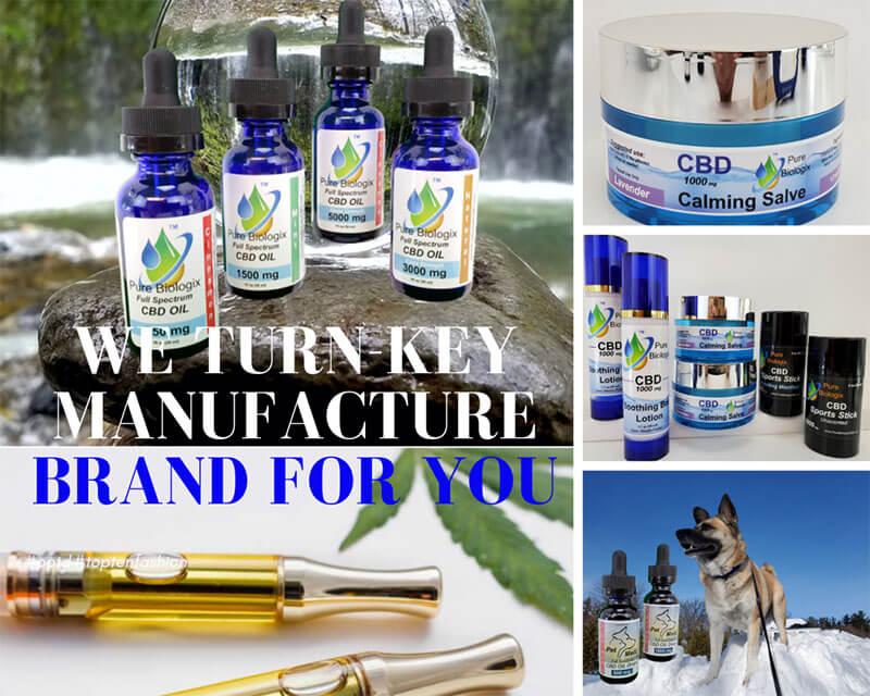 Pure Biologix White Label CBD Products