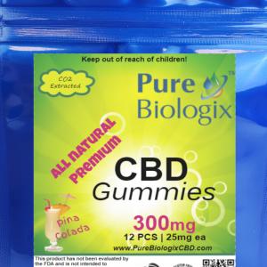 25mg CBD Pina Colada Gummies